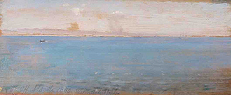 Sir Robert Ponsonby Staples - early Australian plein-air painting